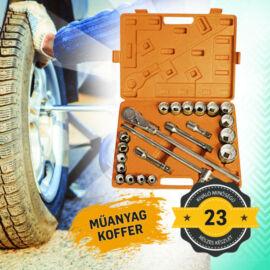 Möller 23 részes 3/4'' Krova dugókulcs készlet kofferben MR70575