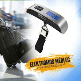 Elektromos kézi mérleg, bőrönd mérleg