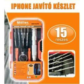 15 részes Möller Iphone javító készlet MR70296