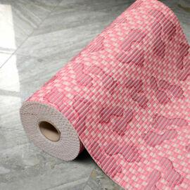 Fürdőszobai kádkilépő - rózsaszín talpas