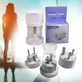 Hálózati átalakító adapter utazáshoz (3db/csomag)