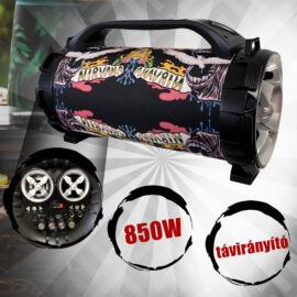 PowerBase Stronger 850W bluetooth akkus karaoke hangfal PBPS-0302