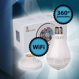 360 panoráma LED izzónak álcázott biztonsági wifi kamera
