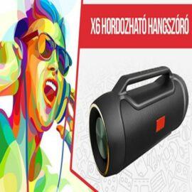 X6 hordozható bluetooth hangfal - fekete