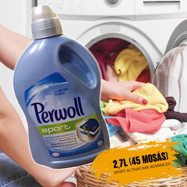 2,7L Perwoll Sport Activecare Advanced 45 mosás