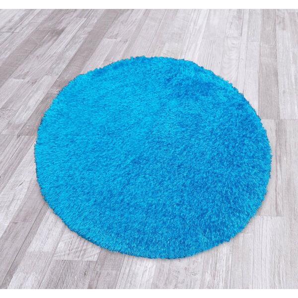 Puffy egyszínű kerek szőnyeg