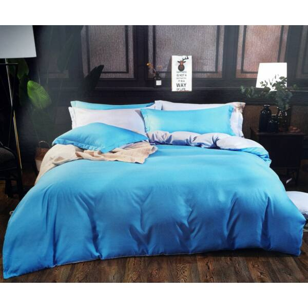 7 részes Lara ágynemű - kék