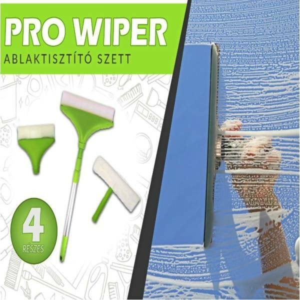 Pro Wiper 4 részes teleszkópos ablaktisztító szett