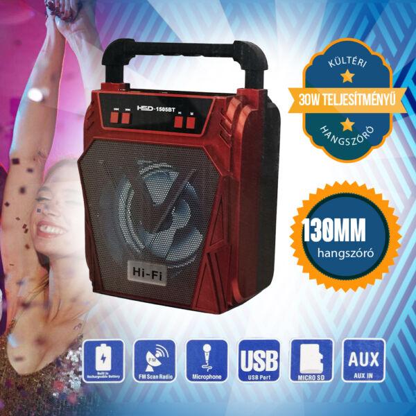 30W-os kültéri bluetooth hangszóró HSD1505BT