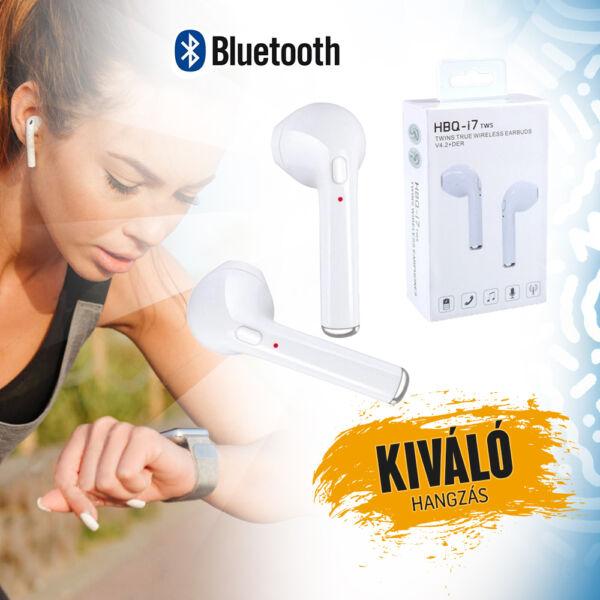 I7S TWS bluetooth vezetéknélküli fülhallgató, töltő dobozzal