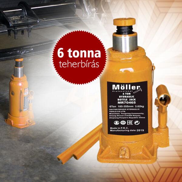 MÖLLER 6T hidraulikus palack emelő 185-355mm MR70465