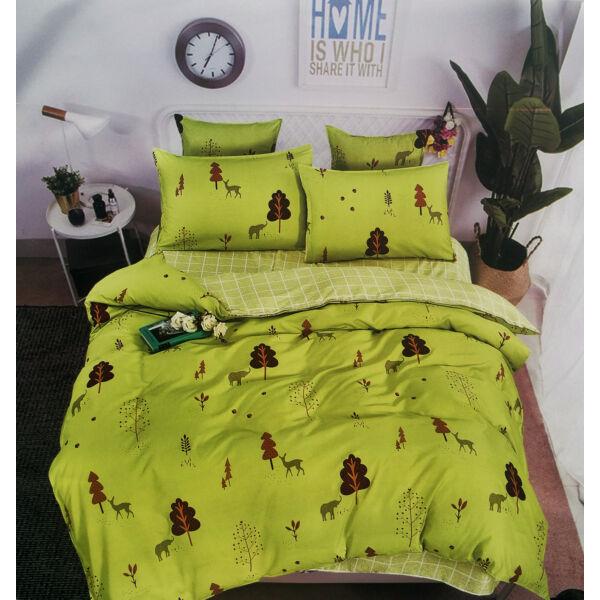 7 részes Nicole prémium ágyneműhuzat garnitúra - zöld